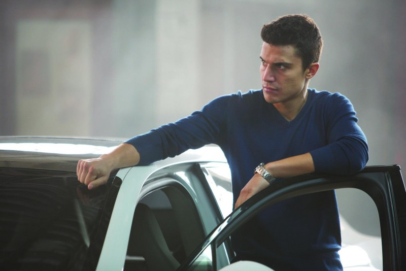 Alex Gonzalez in Combustión: una scena del film del 2013
