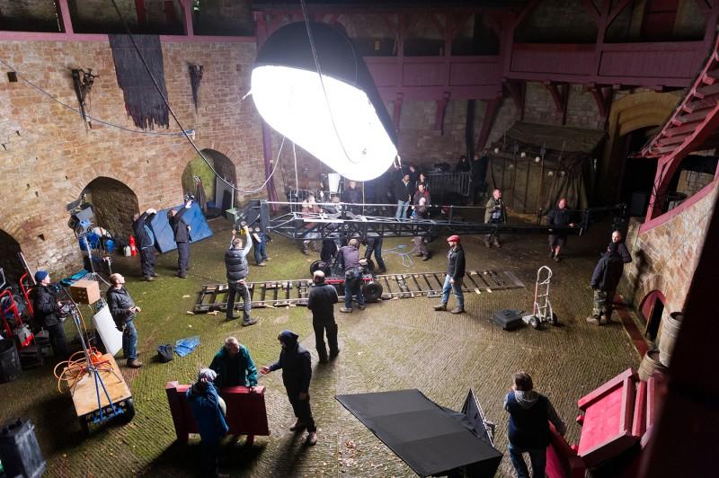Da Vinci's Demons: una foto dal set della serie