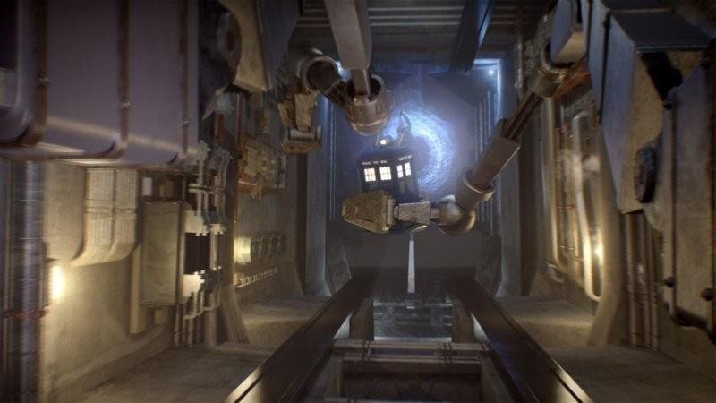 Doctor Who: un'immagine dell'episodio Journey to the Centre of the TARDIS