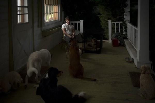 Hannibal: Hugh Dancy in una scena dell'episodio Apéritif