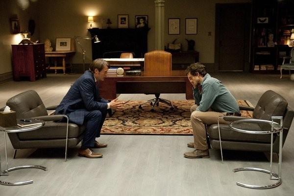 Hannibal: Mads Mikkelsen e Hugh Dancy nell'episodio Amuse-Bouche