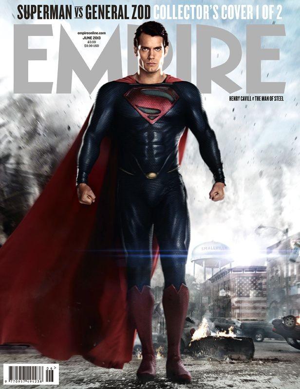 L'uomo d'acciaio: altra copertina di Empire dedicata a Henry Cavill