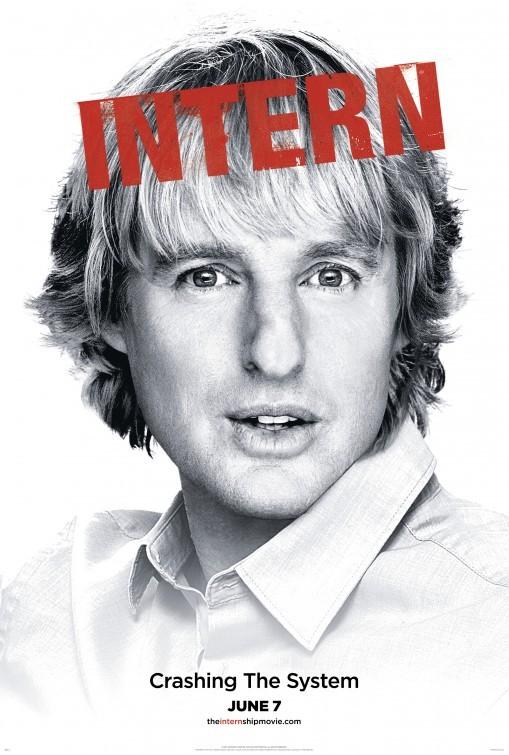 The Internship: character poster per Owen Wilson
