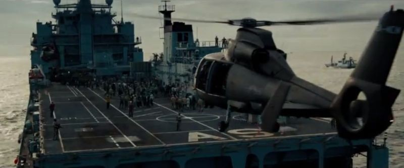 World War Z: una scena tratta dal film