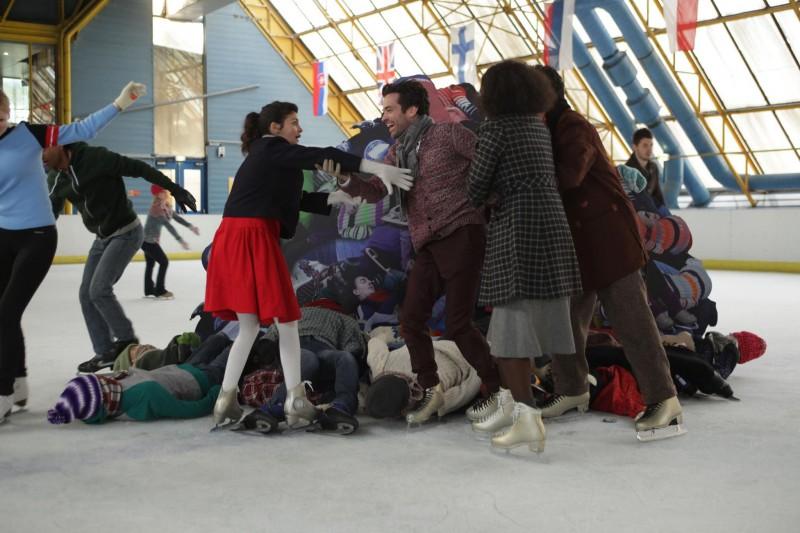 Audrey Tautou e Romain Duris sono Chloe e Colin nel film Mood Indigo - La schiuma dei giorni