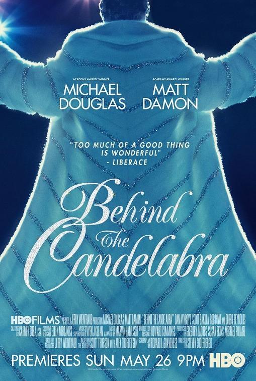 Behind the Candelabra: la locandina del film