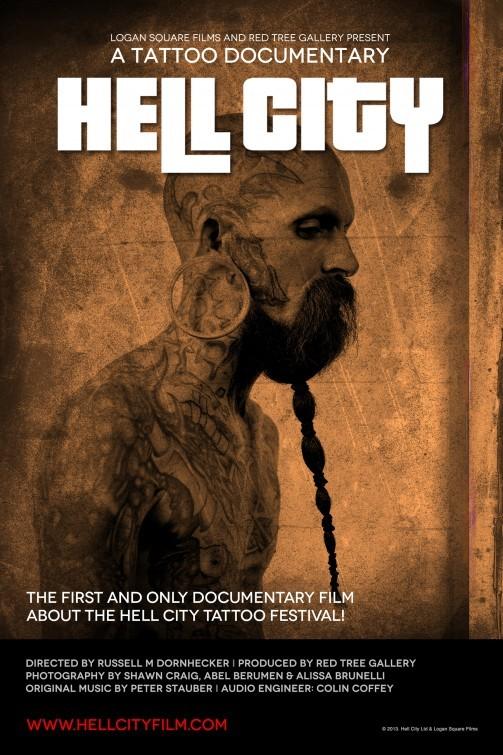 Hell City: la locandina del film