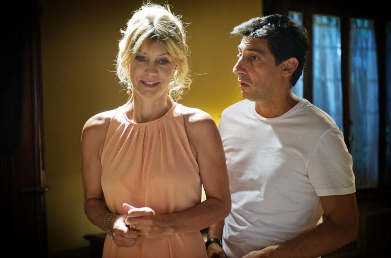 Mi rifaccio vivo: Margherita Buy con Emilio Solfrizzi in una scena