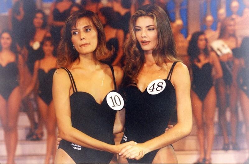 Miss Italia 1994: Alessandra Meloni e Beatrice Bocci
