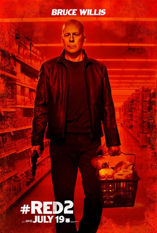 Red 2 : character poster per Bruce Willis