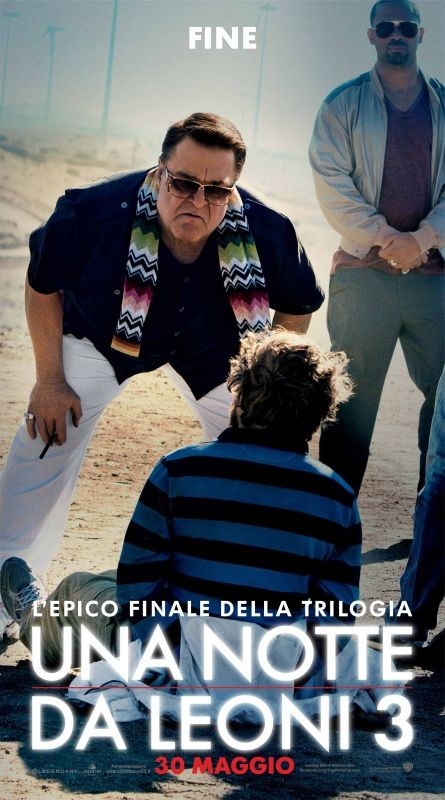 Una notte da leoni 3: action banner italiano per John Goodman