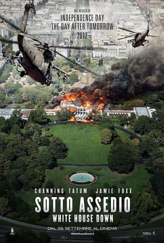Sotto Assedio - White House Down: la locandina italiana