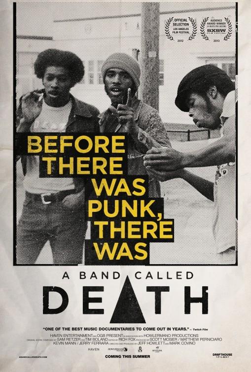 A Band Called Death: la locandina del film