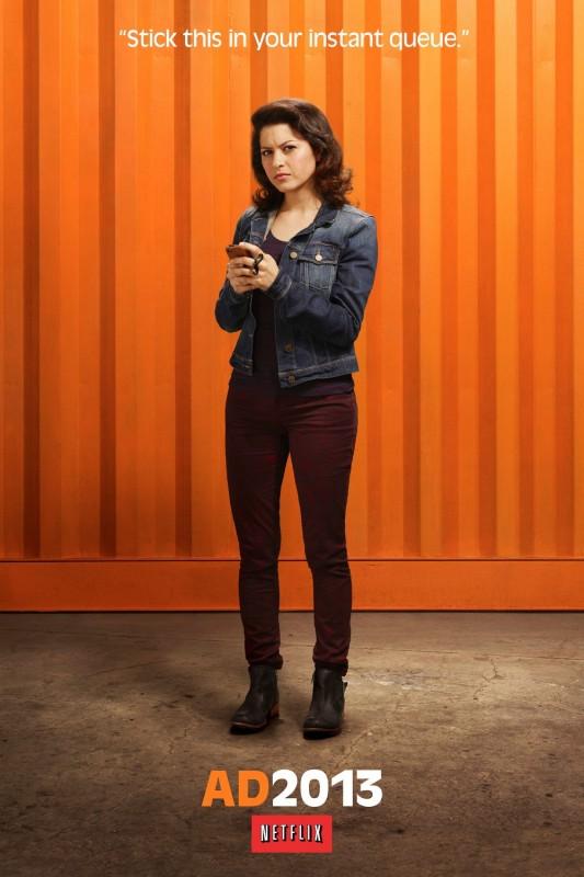 Arrested Development: Alia Shawkat in un character poster della stagione 4
