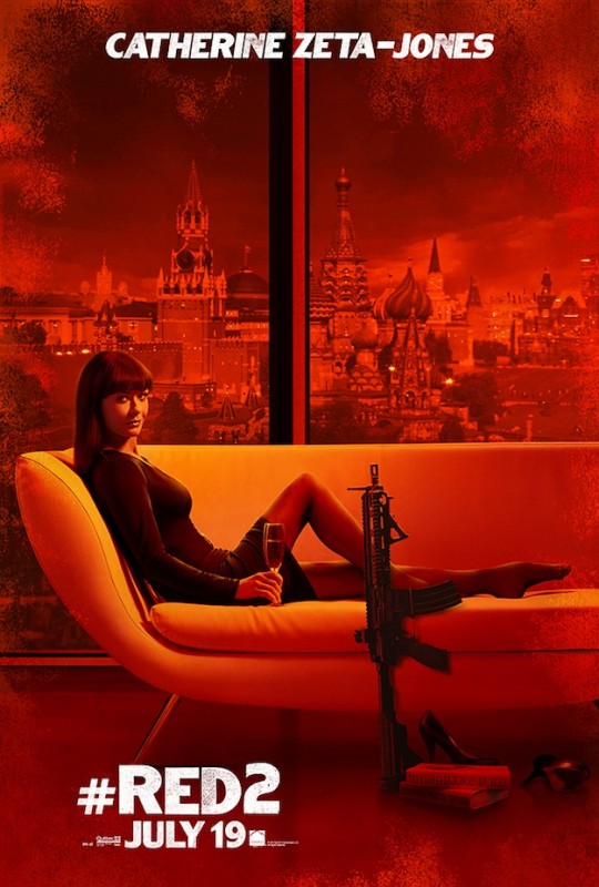Red 2 : character poster per Catherine Zeta-Jones