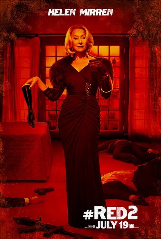 Red 2 : character poster per Helen Mirren