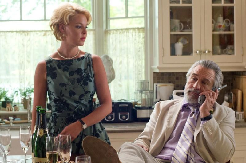Robert De Niro con Katherine Heigl in Big Wedding