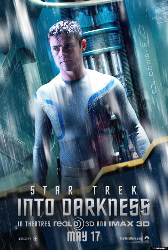 Star Trek Into Darkness: character poster per Karl Urban
