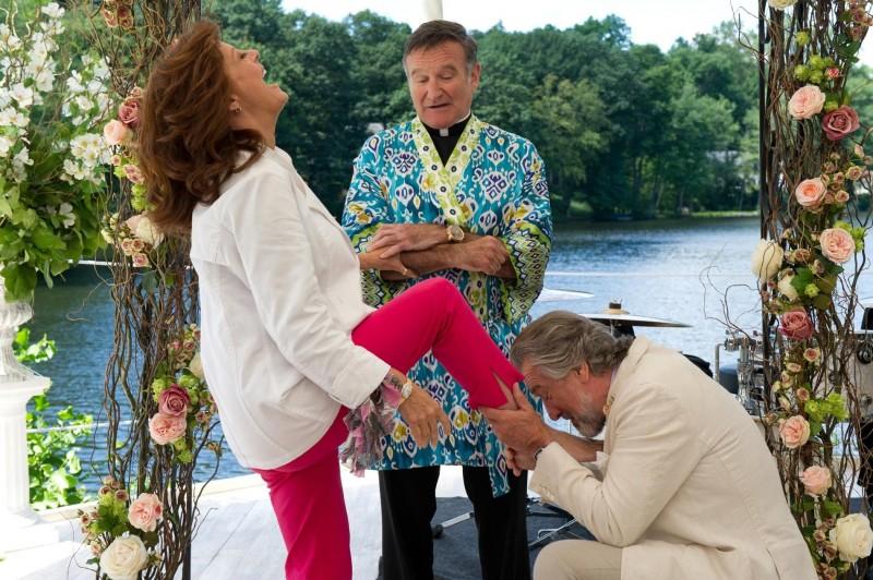 Susan Sarandon, Robin Williams e Robert De Niro in Big Wedding