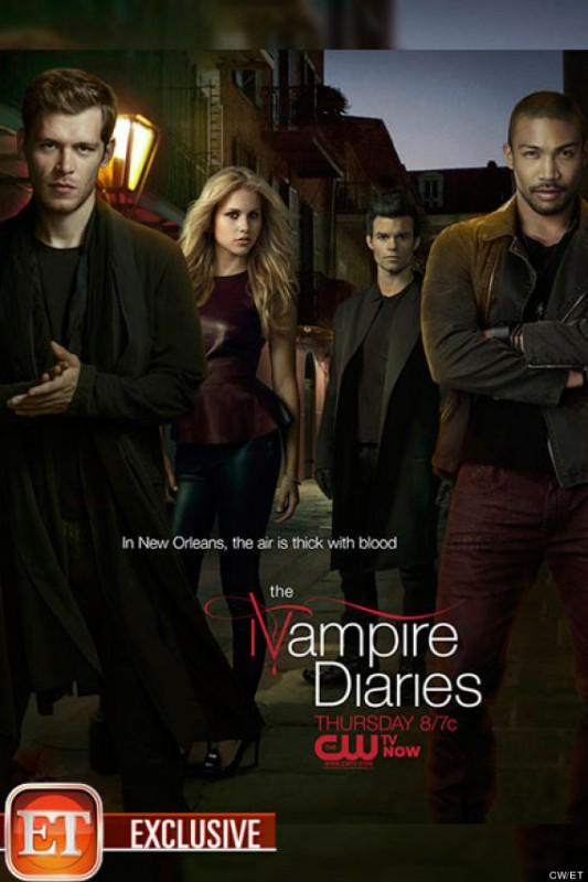 The Vampire Diaries: un poster per l'episodio The Originals, che lancia li spin-off omonimo