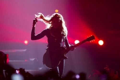 Madonna a Berlino con il suo MDNA Tour (2012)