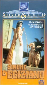 Sinuhe l'egiziano: la locandina del film