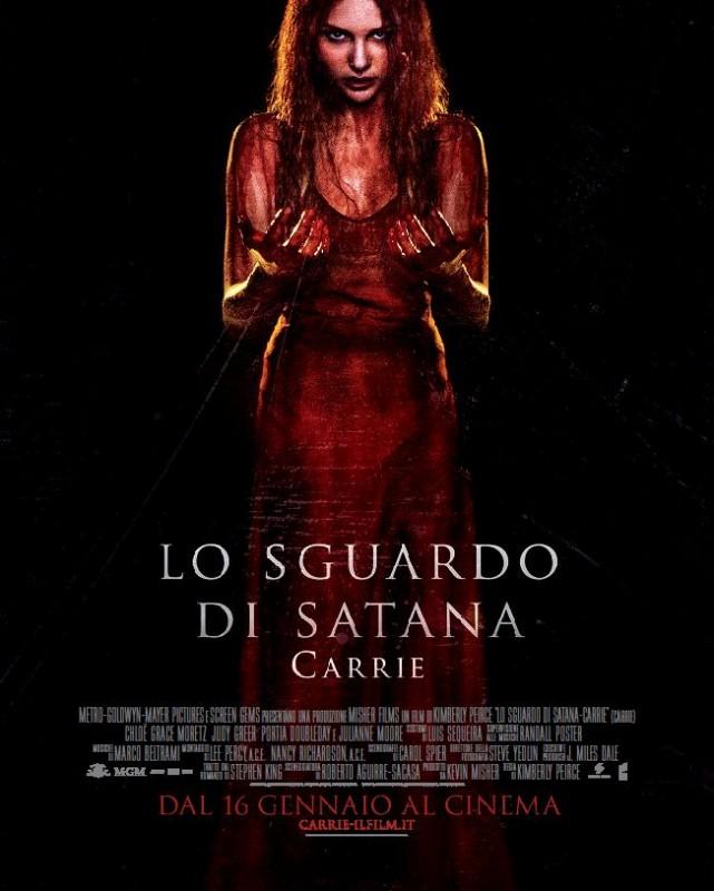 Lo sguardo di Satana - Carrie: il nuovo poster italiano