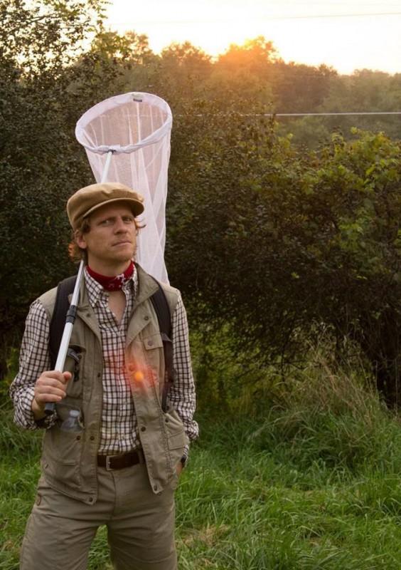 Oliver Henzler è un lepidotterista svedese nel film The Happy House