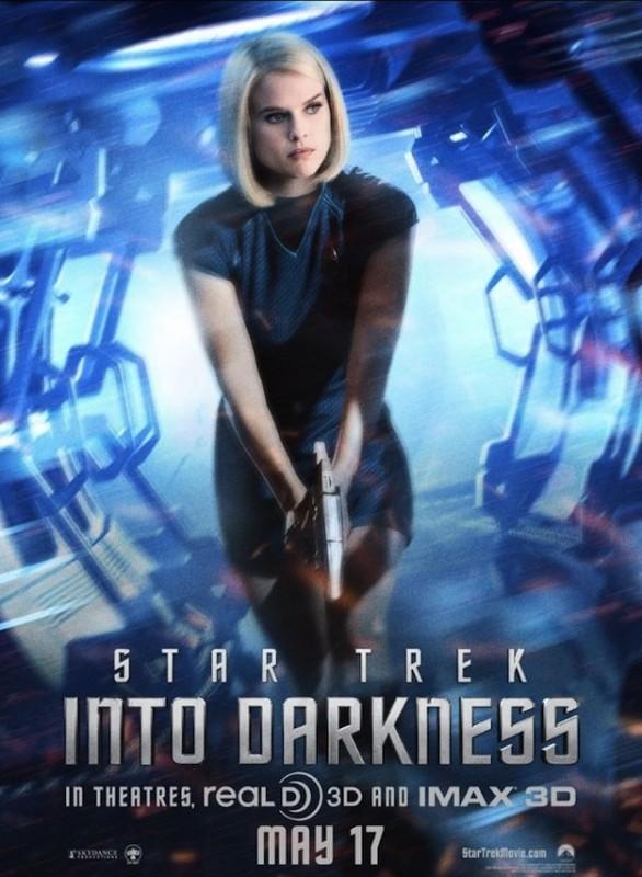 Star Trek Into Darkness: character poster per Alice Eve