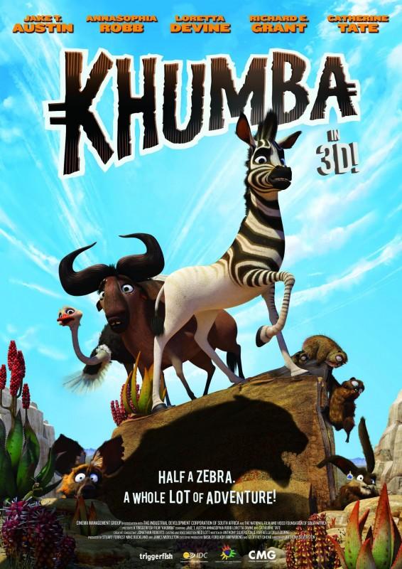 Khumba: la locandina del film