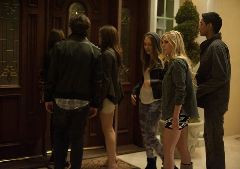 The Bling Ring: una scena di gruppo del film