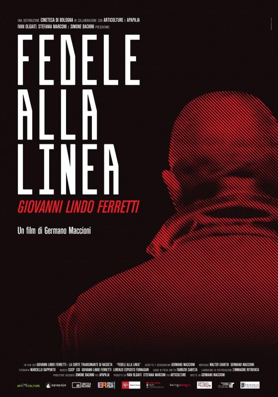 Fedele alla linea - Giovanni Lindo Ferretti: la locandina del film