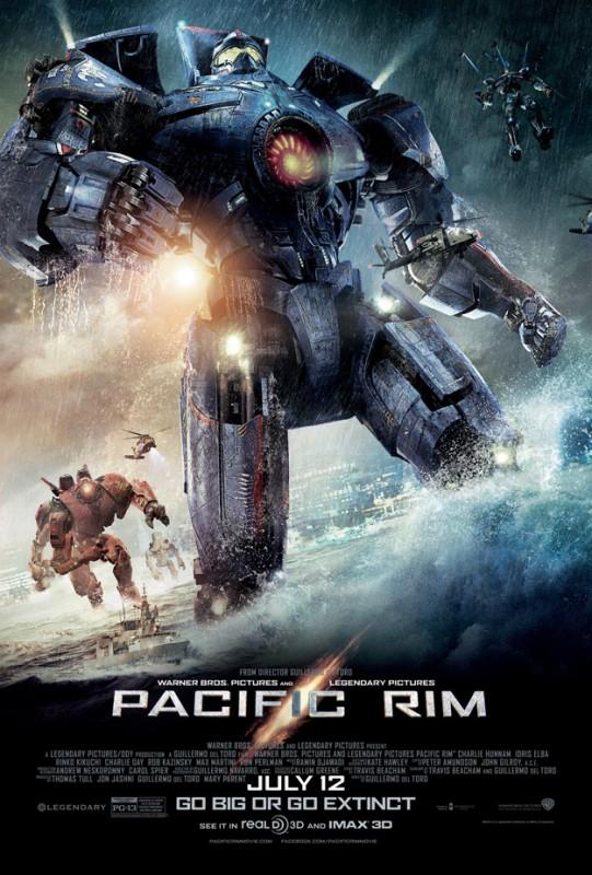 Pacific Rim: robot in azione nella nuova locandina