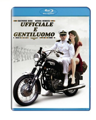 La copertina di Ufficiale e gentiluomo (blu-ray)