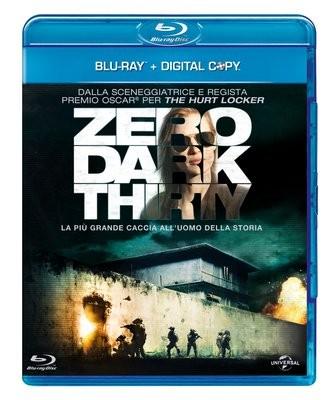 La copertina di Zero Dark Thirty (blu-ray)