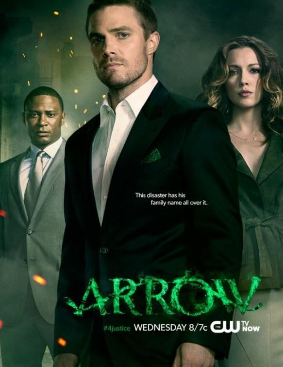 Arrow: nuovo poster per la serie CW