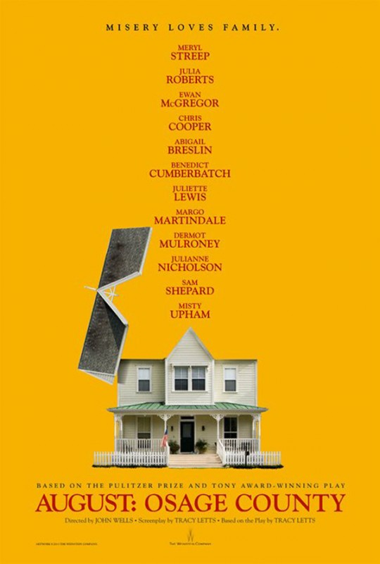 August: Osage County: la locandina del film