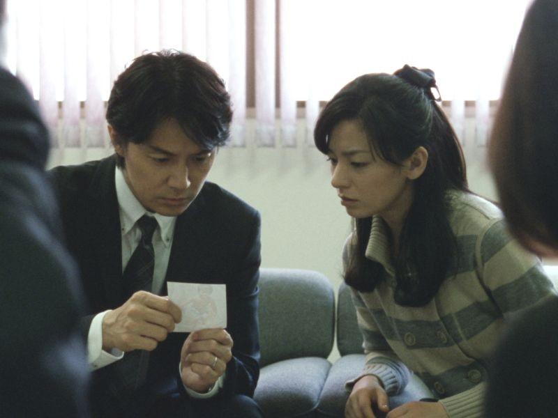 Like father, Like son: Masaharu Fukuyama e Ono Machiko in una scena
