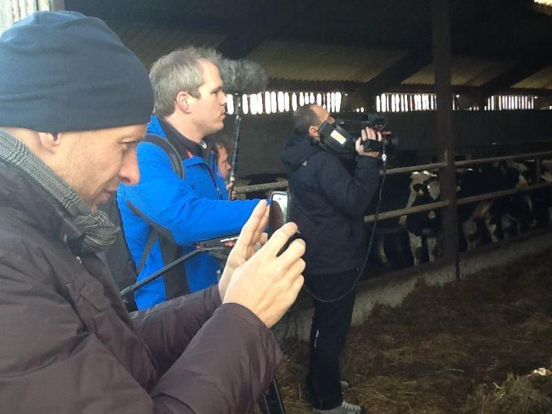 Slow Food Story: il regista Stefano Sardo sul set del documentario