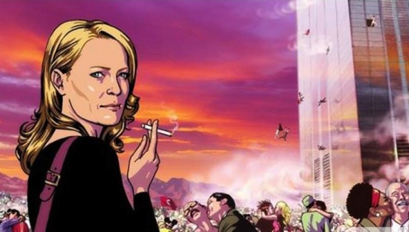 The Congress: una scena del film animato diretto da Ari Folman