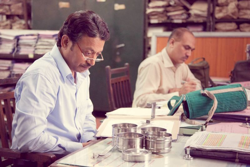 The Lunchbox: Irrfan Khan in una scena del film