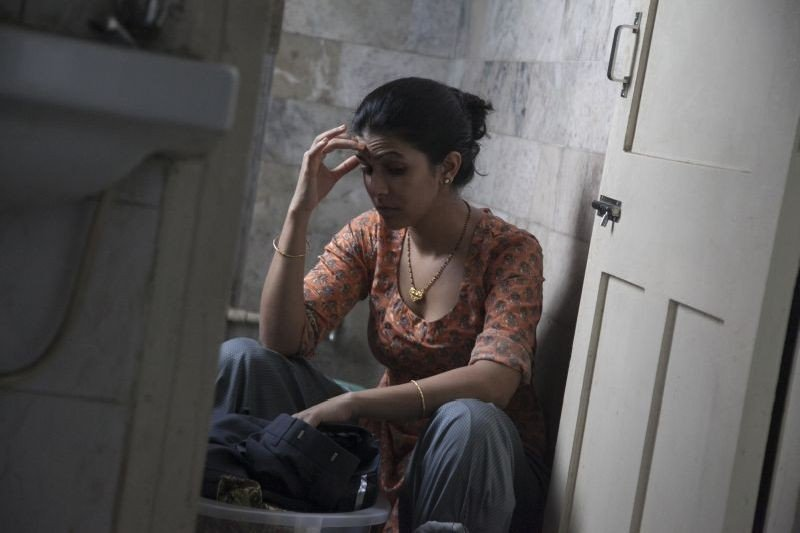 The Lunchbox: Nimrat Kaur in una scena del film