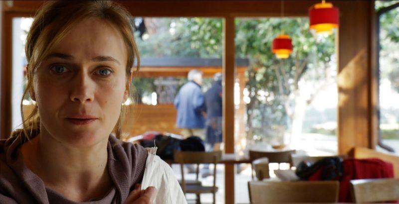 Una mamma imperfetta: Lucia Mascino in una scena del film
