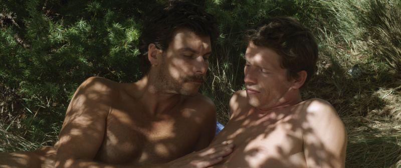 L'inconnu du lac: Christophe Paou e Pierre de Ladonchamps in una scena del film