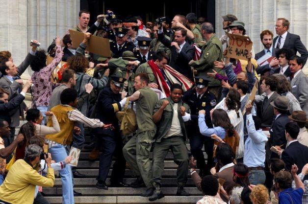 Muhammad Ali's Greatest Fight: un'immagine dal set