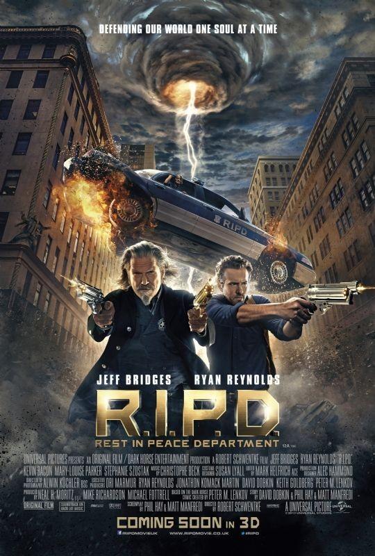 R.I.P.D.: la nuova locandina del film