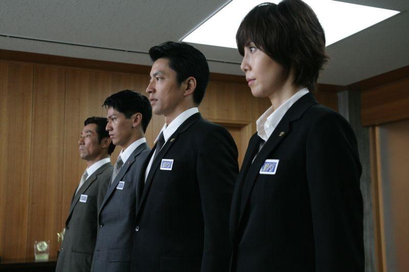 Shield of Straw: Takao Osawa e Nanako Matsushima in una scena