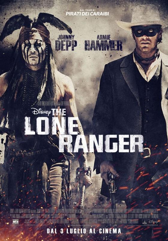 The Lone Ranger: ecco il poster italiano definitivo del film