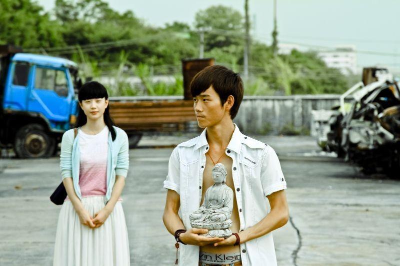 A Touch of Sin: Luo Lanshan e Li Meng in una scena del film