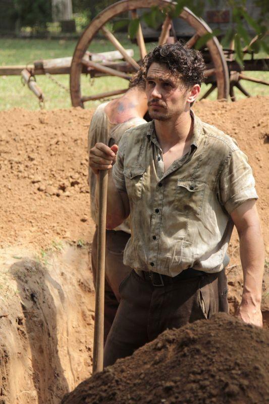 As I Lay Dying: James Franco in una scena del film
